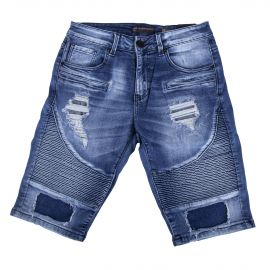 Short en jean destroy homme BLUES SPENCER'S