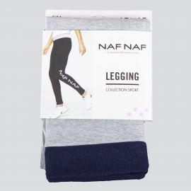 Legging de sport floqué femme NAF NAF marque pas cher prix dégriffés destockage