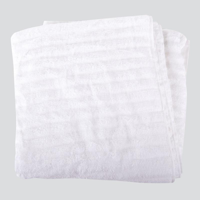 Serviette de bain blanche VIVOVE marque pas cher prix dégriffés destockage