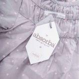 Ensemble tunique et short gris à pois rose bébé ABSORBA marque pas cher prix dégriffés destockage