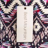 Robe multicolore à motifs graphiques femme BEST MOUNTAIN marque pas cher prix dégriffés destockage