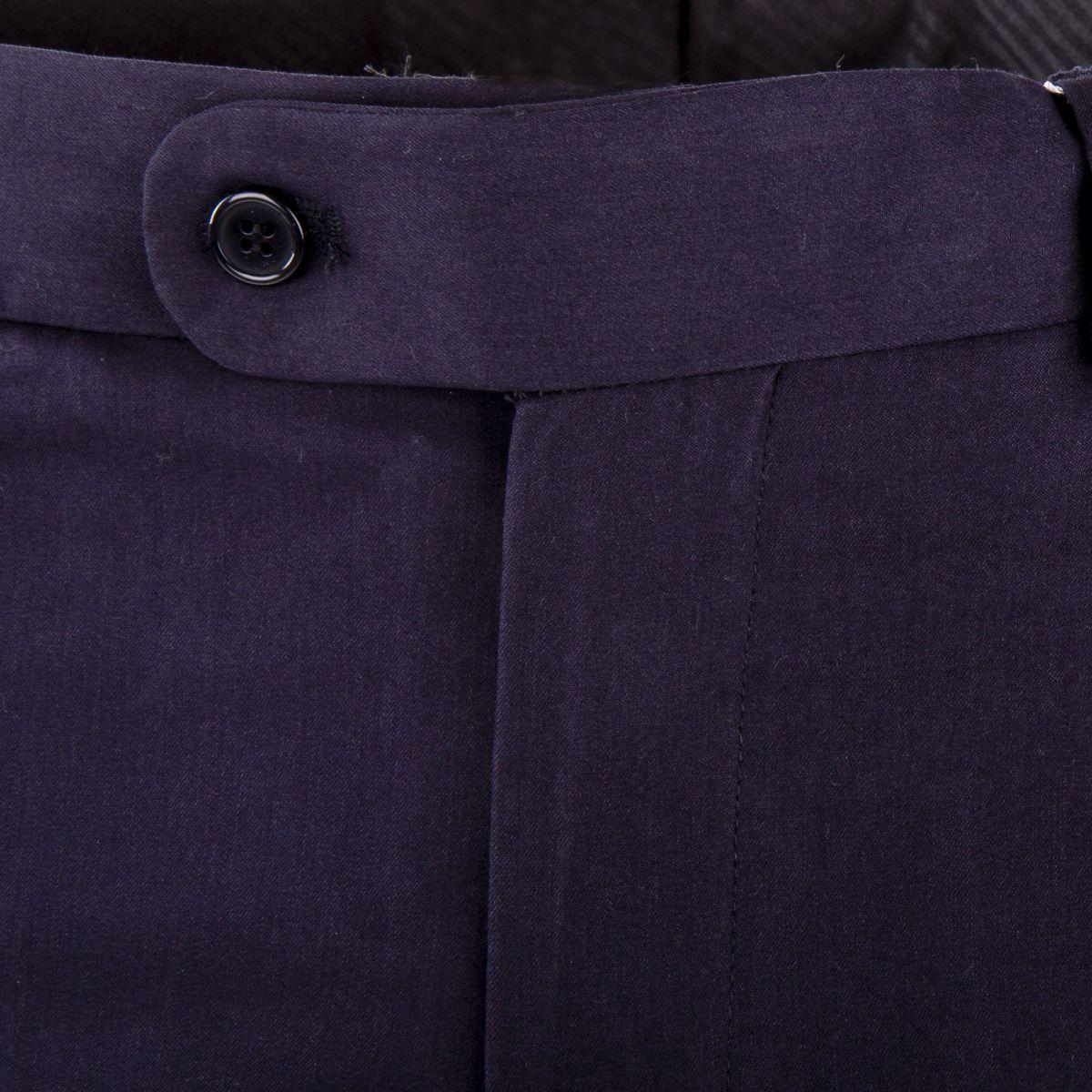 ... Pantalon de costume bleu marine homme MARION ROTH marque pas cher prix  dégriffés destockage ... abb048284ea