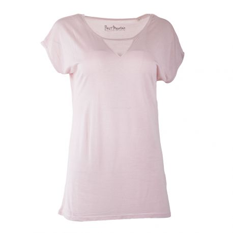 Tee shirt détail résille femme BEST MOUNTAIN marque pas cher prix dégriffés destockage