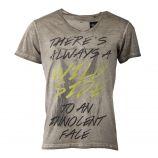 Tee shirt manches courtes inscriptions homme BEST MOUNTAIN marque pas cher prix dégriffés destockage