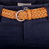 Pantalon en toile marine femme BEST MOUNTAIN marque pas cher prix dégriffés destockage
