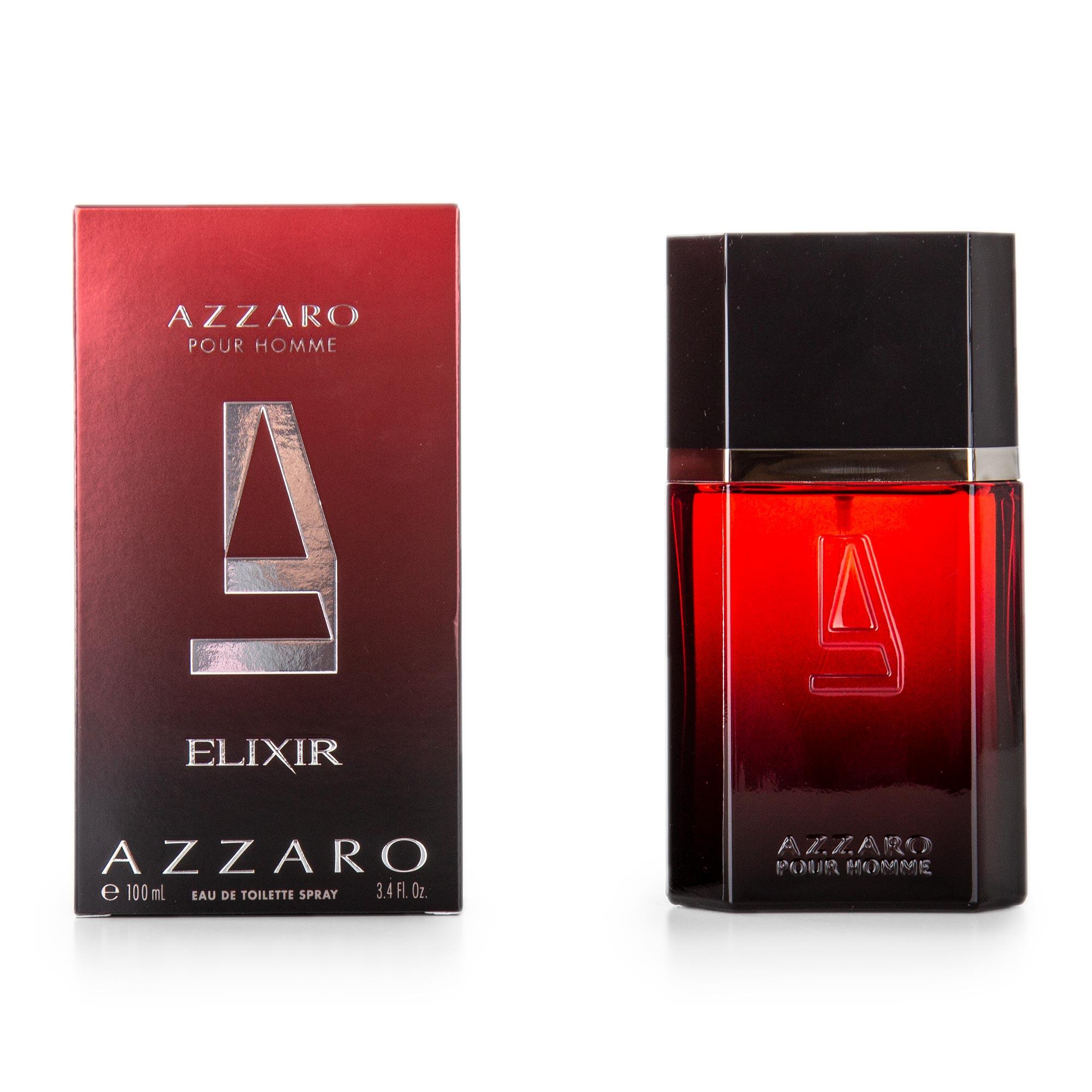 Eau De Toilette Elixir Homme 100 Ml Azzaro à Prix Dégriffé