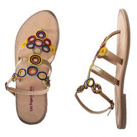 Sandales à perles OFELIE femme LES TROPEZIENNES