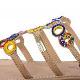 Sandales à perles OFELIE femme LES TROPEZIENNES marque pas cher prix dégriffés destockage