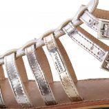 Sandales montantes brides en cuir HIC femme LES TROPEZIENNES marque pas cher prix dégriffés destockage