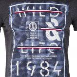 Tee shirt manches courtes homme BIAGGIO marque pas cher prix dégriffés destockage