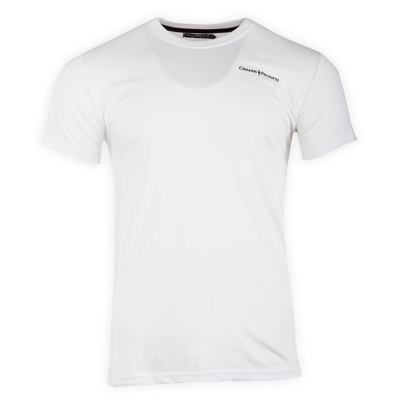 Tee-shirt basique manches courtes homme PACIOTTI marque pas cher prix dégriffés destockage