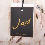 Robe longue fendue imprimés oiseaux femme JAD marque pas cher prix dégriffés destockage
