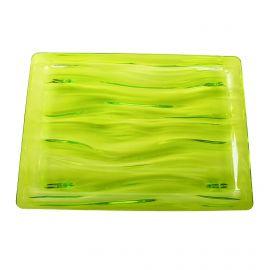 Petit plateau vert en plexiglas GUZZINI marque pas cher prix dégriffés destockage