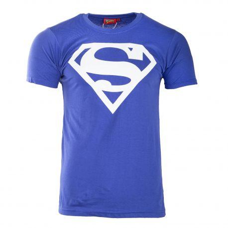 Tee shirt logo Superman bicolore homme marque pas cher prix dégriffés destockage
