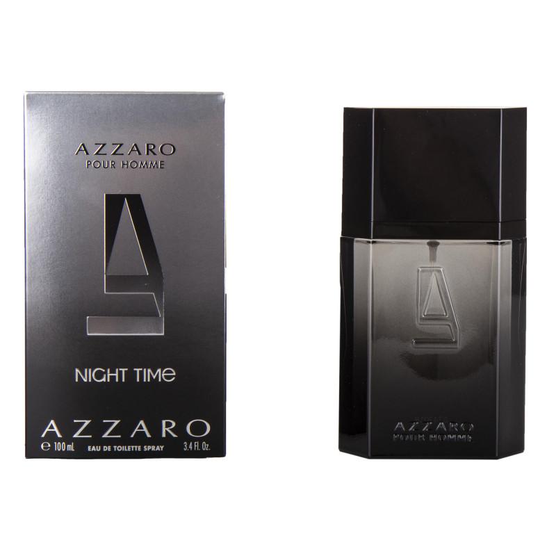 Parfum Eau de toilette Night Time 100 ml homme AZZARO marque pas cher prix dégriffés destockage