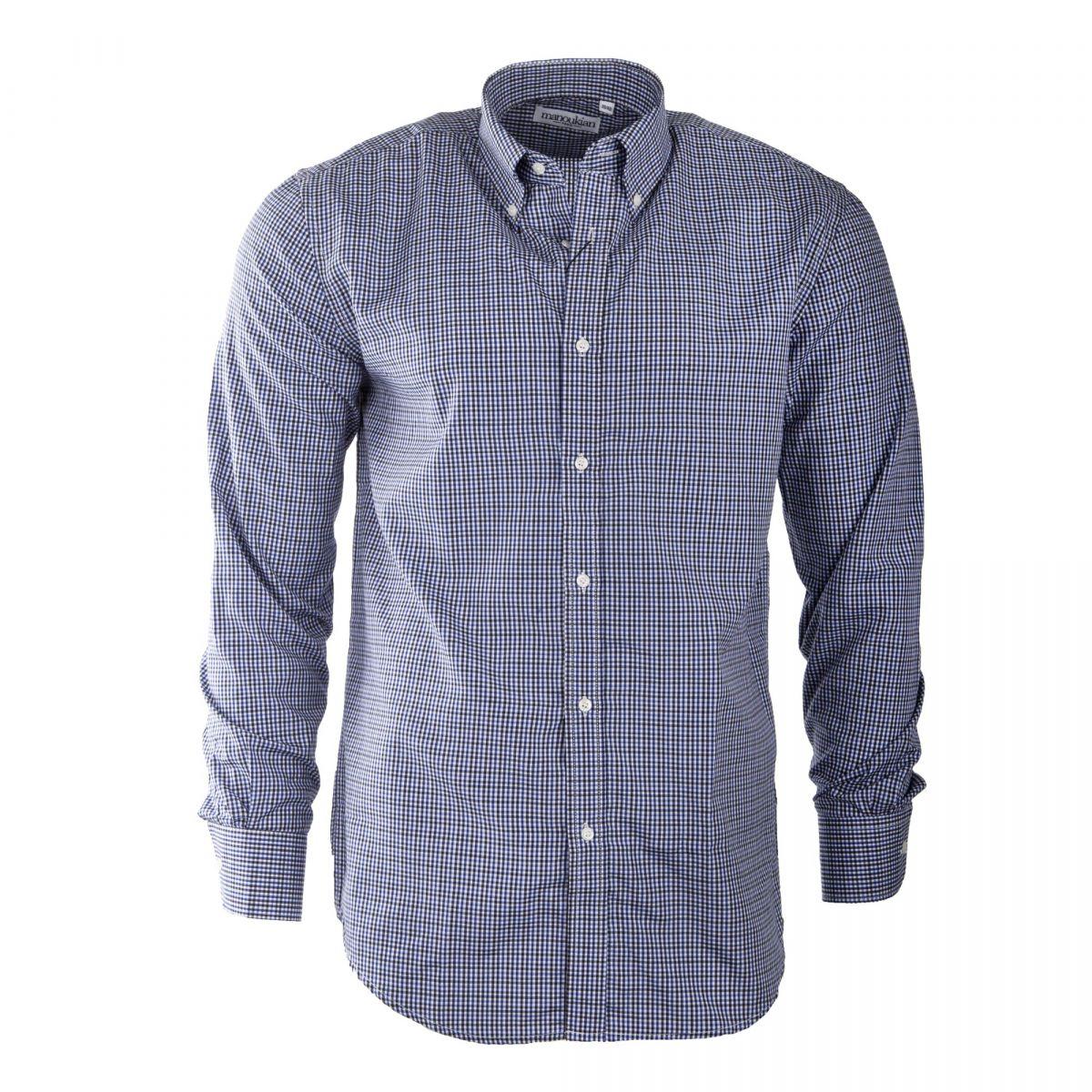 Men's Clothing Brooks Brothers Homme Blanc Bleu Rouge Carreaux Coton Oxford Chemise Habillée