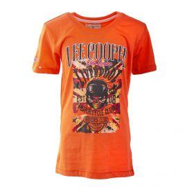 Tee shirt à manches courtes bikers club enfant LEE COOPER marque pas cher prix dégriffés destockage