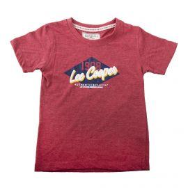 Tee shirt logo garçon LEE COOPER marque pas cher prix dégriffés destockage