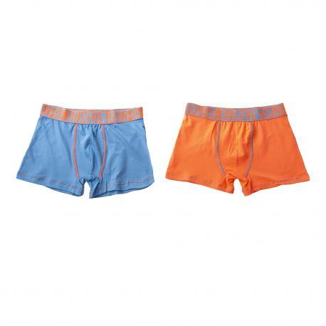 Lot de 2 boxers garçon FREEGUN marque pas cher prix dégriffés destockage