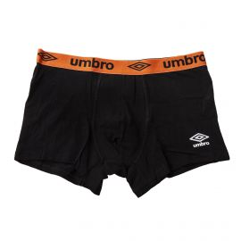 Boxer noir élastique coloré homme UMBRO marque pas cher prix dégriffés destockage
