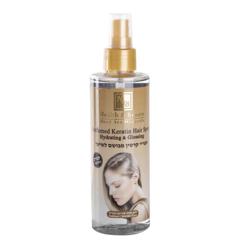Spray parfumé à la kératine éclat femme HEALTH AND BEAUTY marque pas cher prix dégriffés destockage
