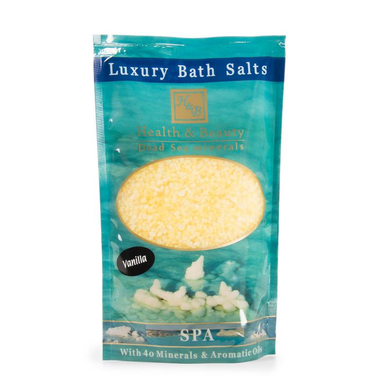 Sel de bain vanille Health and Beauty marque pas cher prix dégriffés destockage