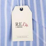 Blouse rayée avec pompons multicolores femme RED SOUL marque pas cher prix dégriffés destockage