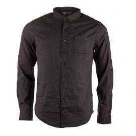 Chemise en coton noire délavée homme RED SOUL marque pas cher prix dégriffés destockage