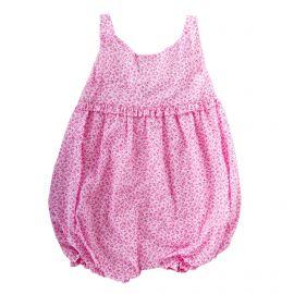 Combinaison courte à fleurs roses bébé ABSORBA marque pas cher prix dégriffés destockage