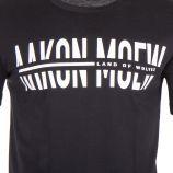 Tee shirt slogan homme AAKON MOEW marque pas cher prix dégriffés destockage