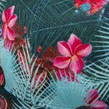 Casquette plate motifs fleuris homme ELEVEN PARIS marque pas cher prix dégriffés destockage