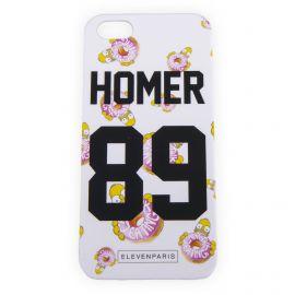 Coque iPhone 5/5s Homer Simpson ELEVEN PARIS marque pas cher prix dégriffés destockage