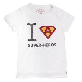 Tee shirt à manches courtes super-héro enfant FABULOUS ISLAND