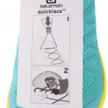 Baskets Running Chaussettes Quicklace Femme SALOMON marque pas cher prix dégriffés destockage