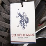 Baskets en toile délavée homme US POLO marque pas cher prix dégriffés destockage