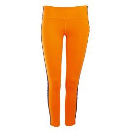 Legging orange bande bleue femme ZUMBA marque pas cher prix dégriffés destockage