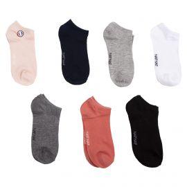 Pack de 7 paires de chaussettes courtes femme NAF NAF