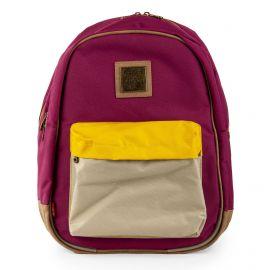 Grand sac à dos violet KICKERS marque pas cher prix dégriffés destockage