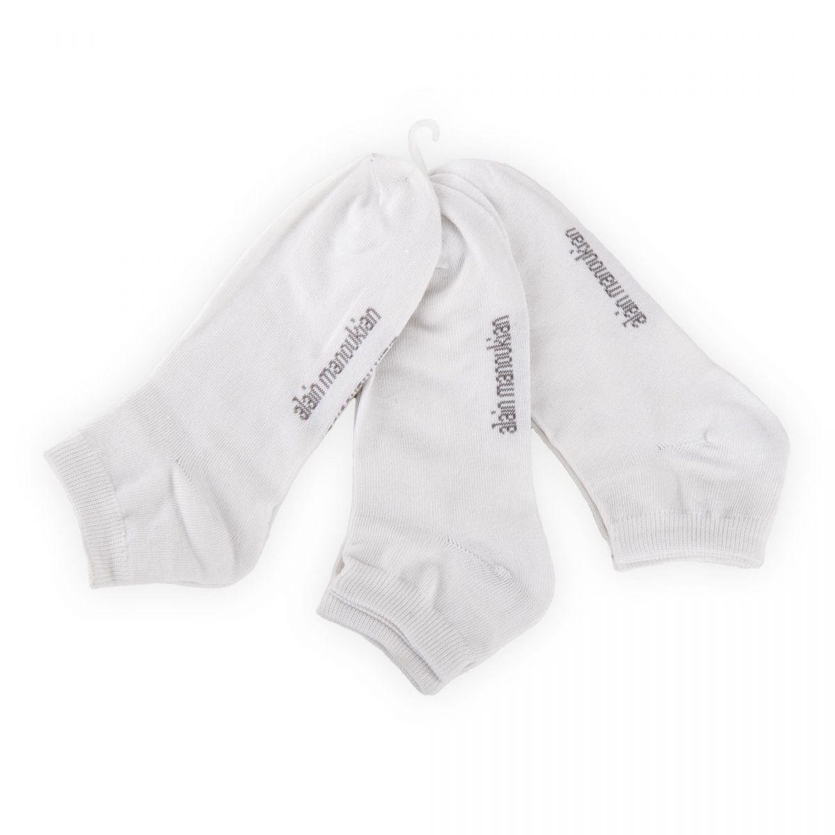 lot de 3 paires de chaussettes invisibles homme manoukian. Black Bedroom Furniture Sets. Home Design Ideas