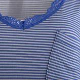 Nuisette en coton manches courtes femme MANOUKIAN marque pas cher prix dégriffés destockage