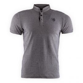 Polo chiné col mao homme AMERICAN PEOPLE