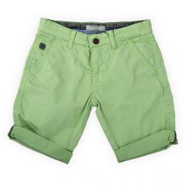 Bermuda en coton vert clair garçon AMERICAN PEOPLE