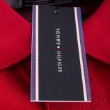 Polo en coton manches courtes homme TOMMY HILFIGER marque pas cher prix dégriffés destockage
