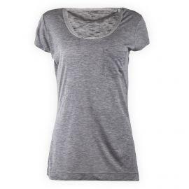 Tee shirt gris manches courtes femme CALVIN KLEIN