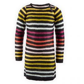 Robe pull à rayures fille Little Marcel marque pas cher prix dégriffés destockage