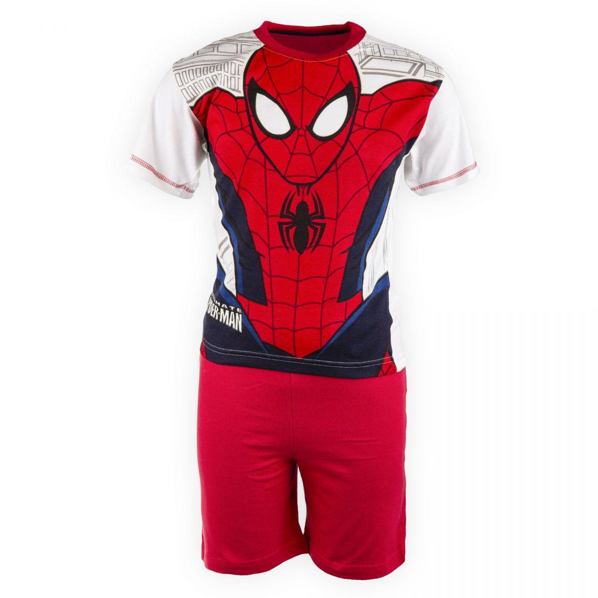 e168f10886f13 Pyjama Spiderman Enfant MARVEL marque pas cher prix dégriffés destockage ...