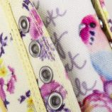 Baskets fleurs à lacets fille ORIGINAL MARINES marque pas cher prix dégriffés destockage