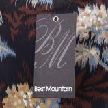 Blouse imprimée en voile femme Best Mountain marque pas cher prix dégriffés destockage