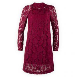 Robe bordeaux en guipure femme Best Mountain marque pas cher prix dégriffés destockage