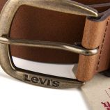 Ceinture en cuir homme Levi's marque pas cher prix dégriffés destockage